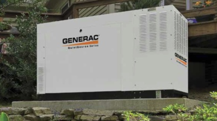 Generac generator installed in Grand Prairie TX by Ingram Electric Company.