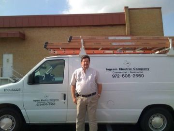 Electrical service by Ingram Electric Company.